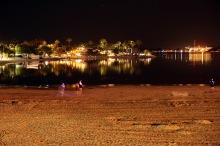 Natt på stranden