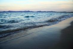Kväll vid stranden