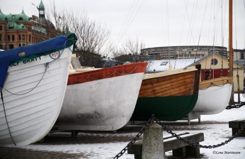 Det var en båt som sa till en annan...