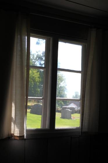 Gardiner i fönstren